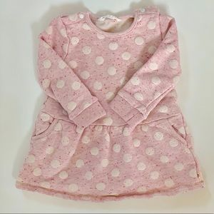 Other - Polka Dot Sweatshirt Dress